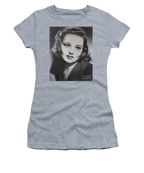 Gene Tierney  Women's T-Shirt