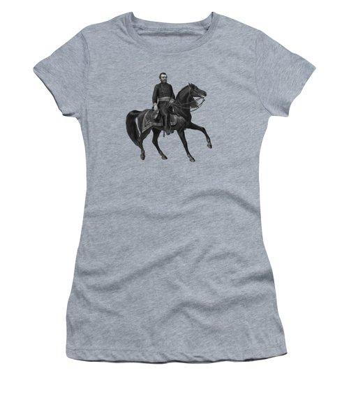 General Grant On Horseback  Women's T-Shirt