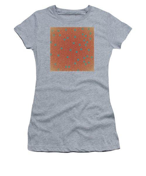 Women's T-Shirt (Junior Cut) featuring the digital art Geometric 1 by Bonnie Bruno