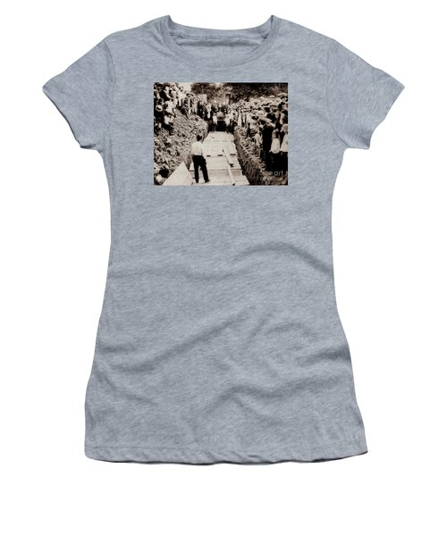 Georgetown Section Of Wilkes Barre Twp. June 5 1919 Women's T-Shirt