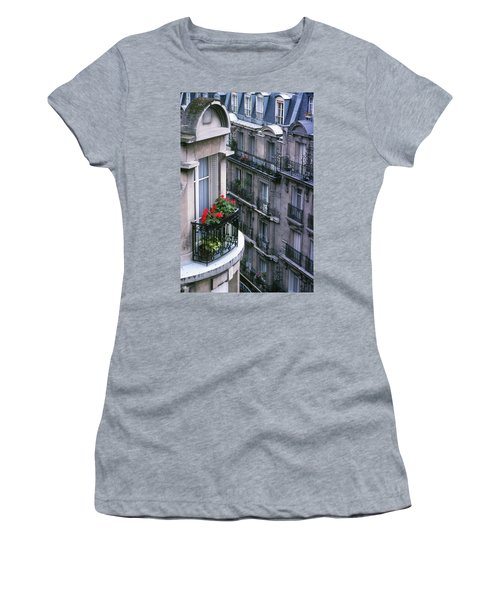 Geraniums - Paris Women's T-Shirt
