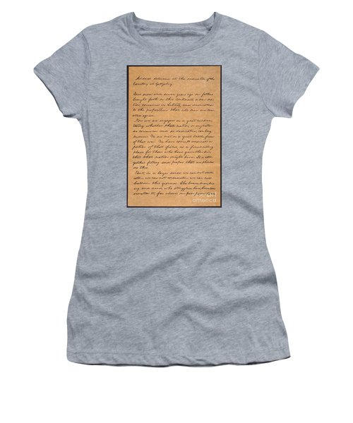 Gettysburg Address Women's T-Shirt