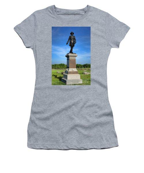Gettysburg National Park John Gibbon Memorial Women's T-Shirt