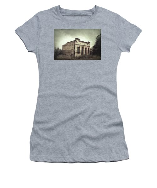 Ghost Cottage Women's T-Shirt (Junior Cut) by Robert FERD Frank