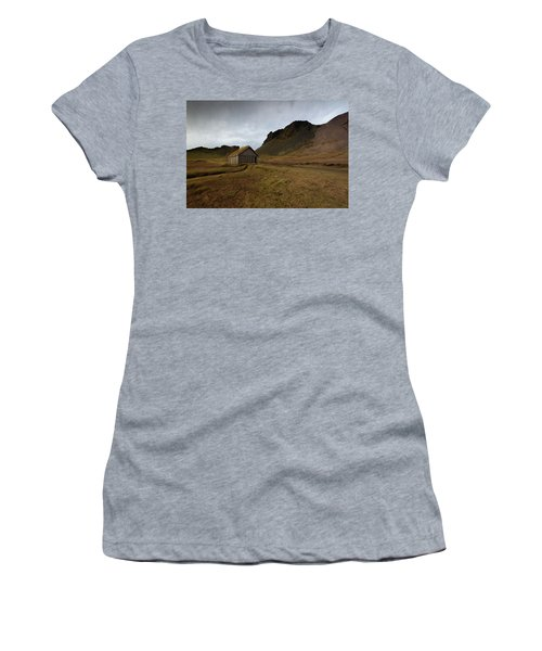 Give Me Shelter Women's T-Shirt (Athletic Fit)