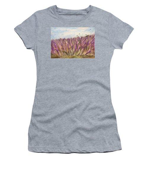 Gladiolus Field Women's T-Shirt