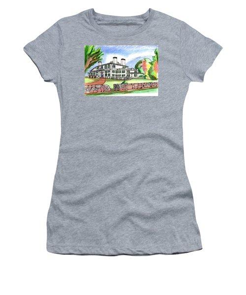 Glen Magna Farms Danvers Women's T-Shirt (Junior Cut) by Paul Meinerth