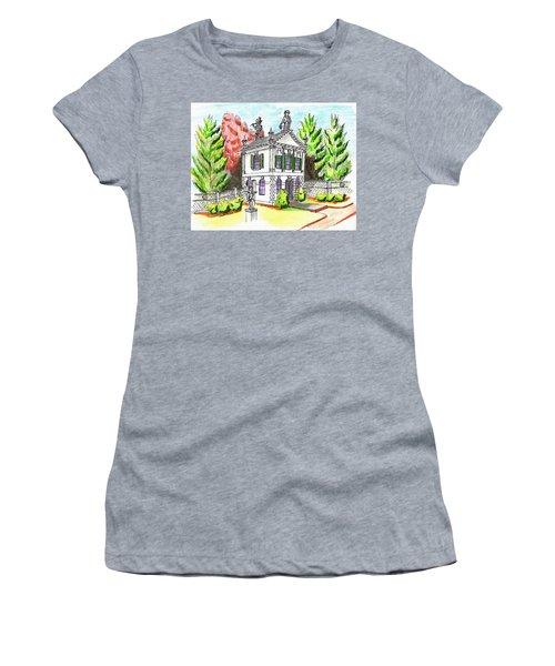 Glen Magna Farms- Derby House 2 Women's T-Shirt (Junior Cut) by Paul Meinerth