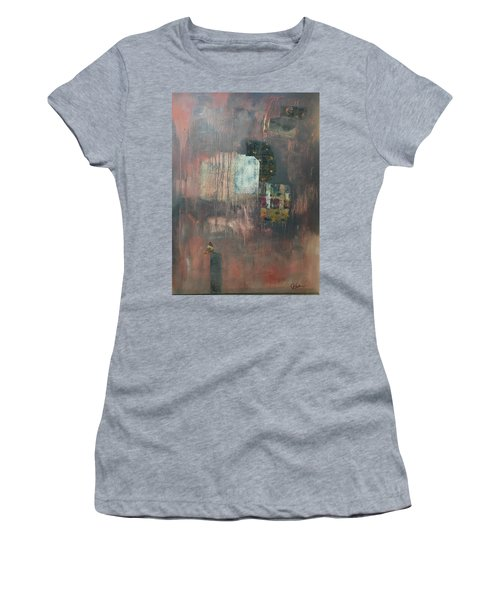 Glimpse Of Town Women's T-Shirt (Athletic Fit)
