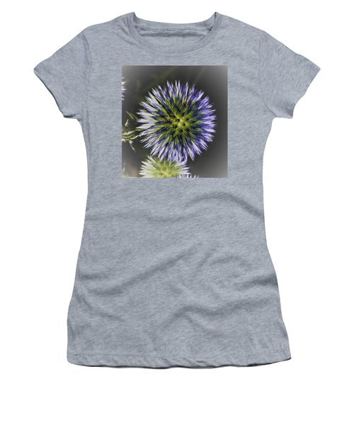 Globe Thistle Exploding Women's T-Shirt (Athletic Fit)