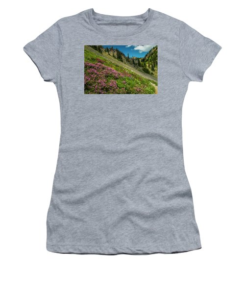 Glorious Mountain Heather Women's T-Shirt (Athletic Fit)