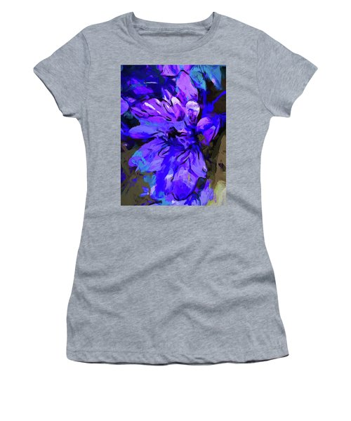 Glory Blue Women's T-Shirt (Athletic Fit)