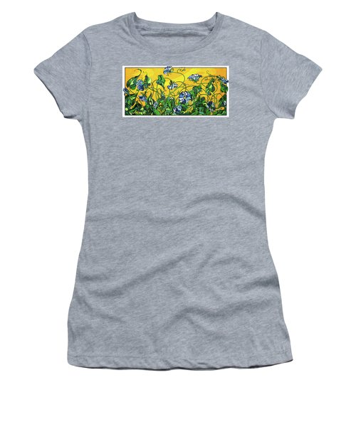 Glory In The Flower Women's T-Shirt (Athletic Fit)