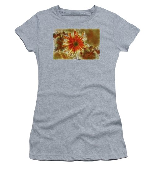 Glowing Flower Women's T-Shirt
