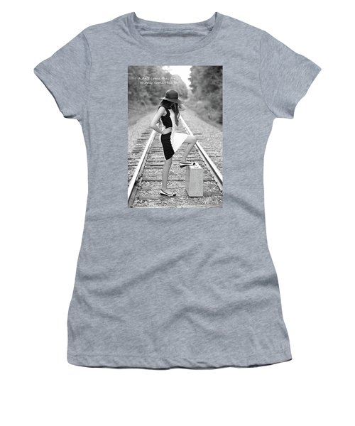 Go Far Women's T-Shirt (Junior Cut) by Barbara West