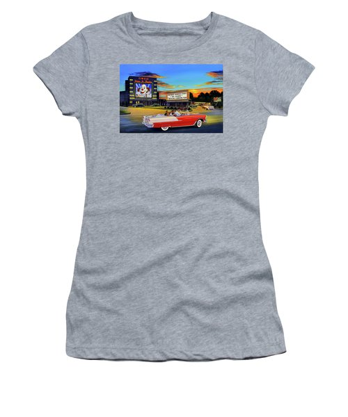Goin' Steady - The Circle Drive-in Theatre Women's T-Shirt