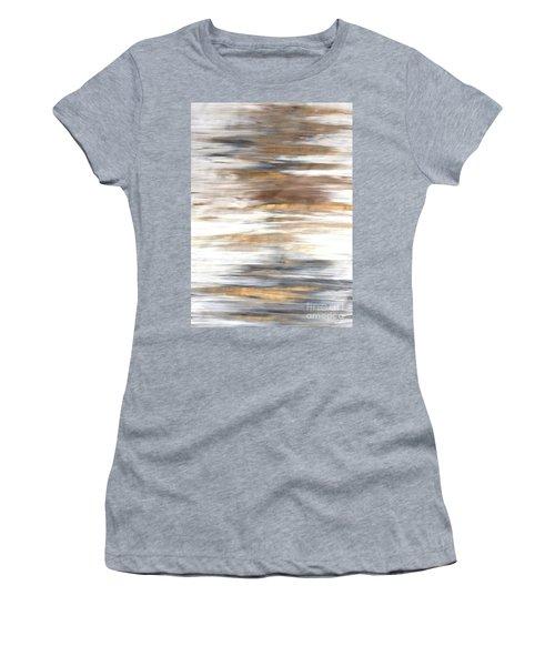 Gold Coast #22 Landscape Original Fine Art Acrylic On Canvas Women's T-Shirt (Athletic Fit)