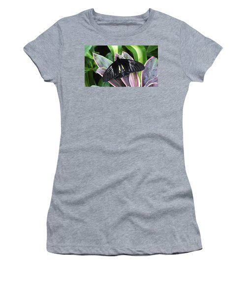 Golden Birdwing Women's T-Shirt (Athletic Fit)