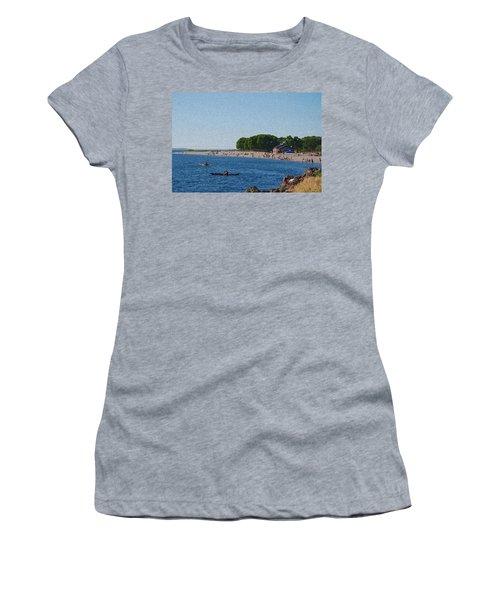 Golden Gardens In Seattle Washington Women's T-Shirt (Athletic Fit)