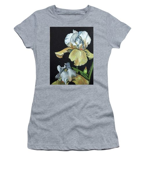 Golden Iris Women's T-Shirt (Athletic Fit)