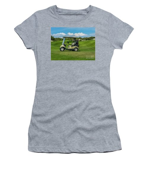 Golf Cart Women's T-Shirt (Athletic Fit)