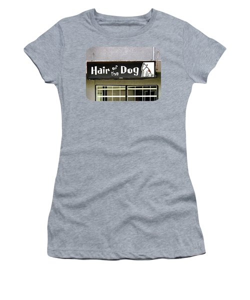 Women's T-Shirt (Junior Cut) featuring the photograph Gone To The Dogs by Ethna Gillespie