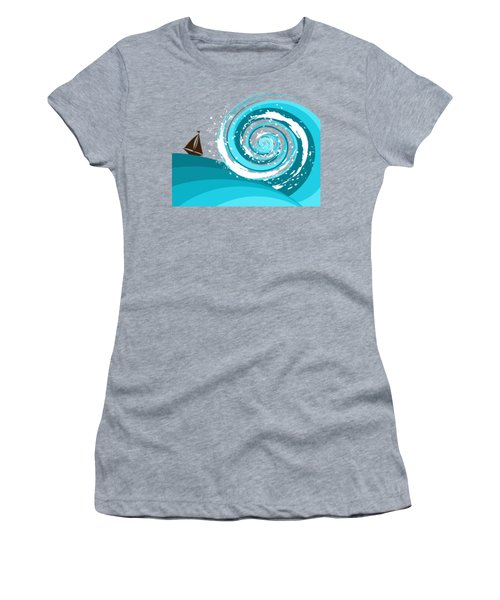 Gonna Need A Bigger Boat Women's T-Shirt (Junior Cut) by Shawna Rowe