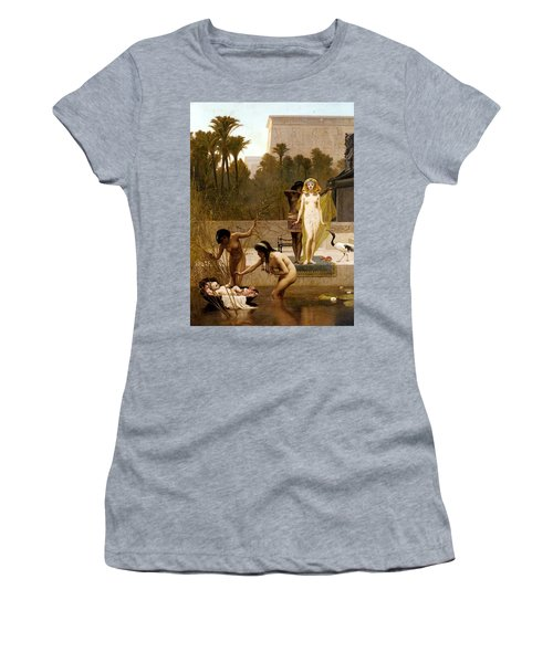 Goodall Frederik The Finding Of Moses Women's T-Shirt (Junior Cut) by Frederick Goodall