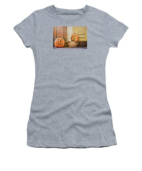 Goofy Gourds Women's T-Shirt (Athletic Fit)