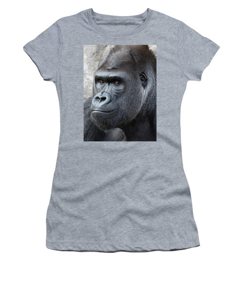 Gorillas In The Mist Women's T-Shirt (Athletic Fit)
