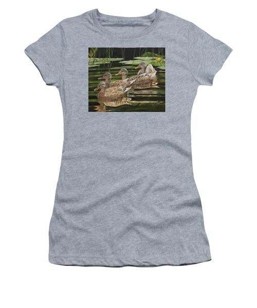 Got My Ducks In A Row Women's T-Shirt (Athletic Fit)