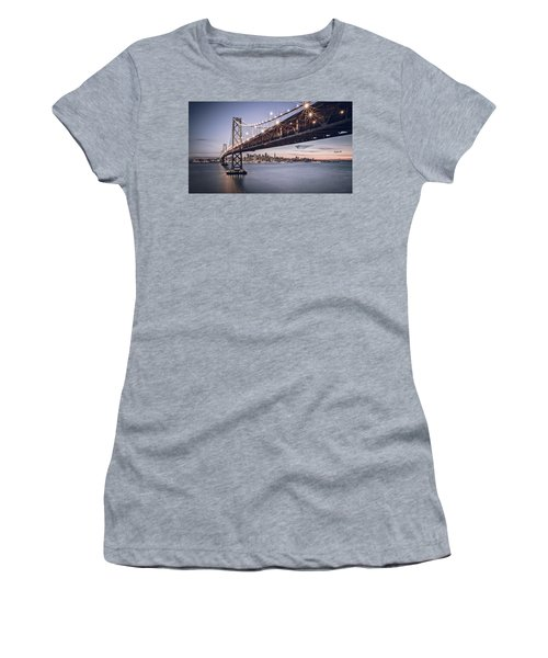 Gotham City Women's T-Shirt (Junior Cut) by Eduard Moldoveanu