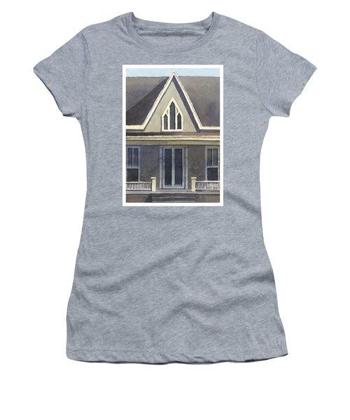 Gothic American, New Harmony, In Women's T-Shirt