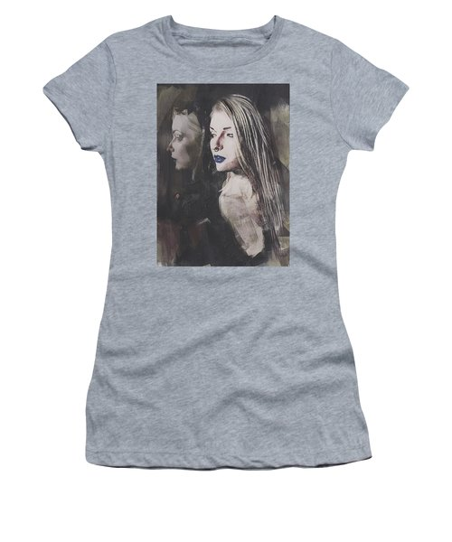 Gothic Mirror Echo Women's T-Shirt