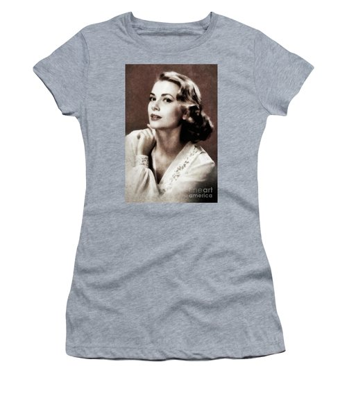 Grace Kelly, Actress, By Js Women's T-Shirt (Athletic Fit)