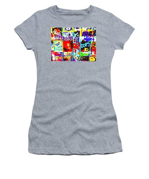 Graffiti Chaos In Paris Women's T-Shirt