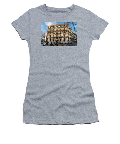 Gran Hotel Havana Women's T-Shirt (Junior Cut) by Randy Scherkenbach