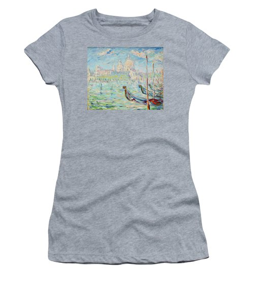 Grand Canal Venice Women's T-Shirt (Athletic Fit)