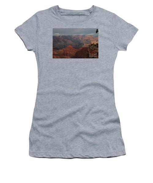 Women's T-Shirt (Junior Cut) featuring the photograph Grand Canyon 1 by Debby Pueschel