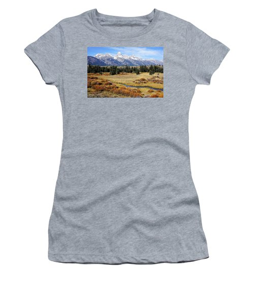 Grand Teton Women's T-Shirt (Athletic Fit)