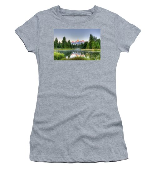 Grand Tetons Sunrise 2 Women's T-Shirt