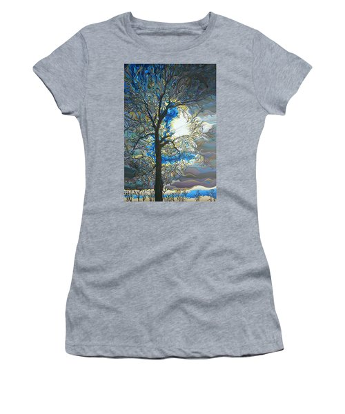 Grasping At Sunshine Women's T-Shirt (Athletic Fit)