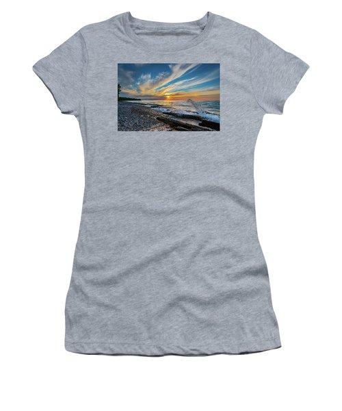 Graveyard Coast Sunset Women's T-Shirt