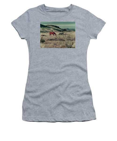 Grazing Solo Women's T-Shirt (Athletic Fit)