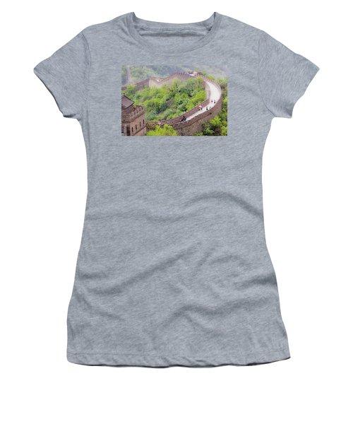 Great Wall At Badaling Women's T-Shirt