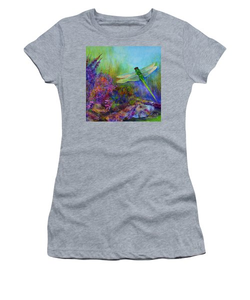 Green Dragonfly Women's T-Shirt