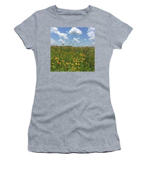 Greener Pastures In Heaven Women's T-Shirt