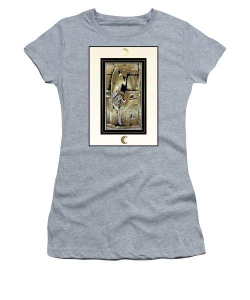 Grief Angel - Light Border Women's T-Shirt