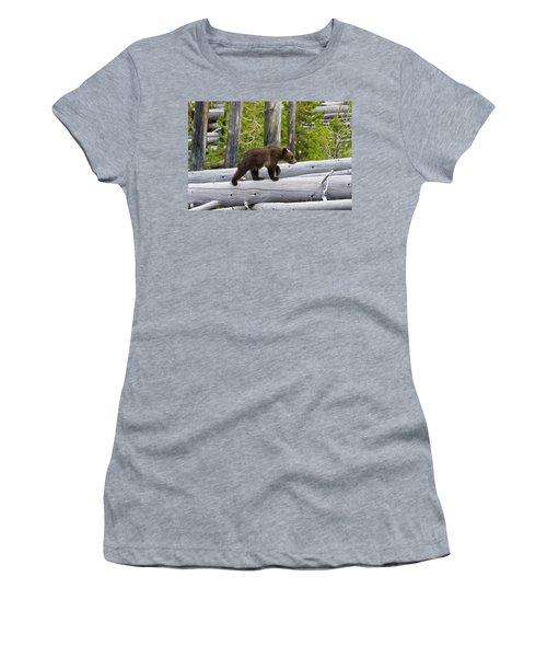 Grizzly Cub Women's T-Shirt