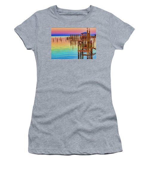 Guarding The Dock Women's T-Shirt